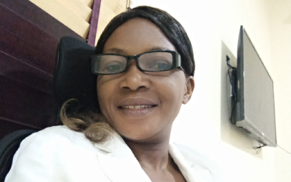 """Esther Ibanga: """"Alison courses have improved my ability to develop effective strategies for managing complex technical projects."""""""