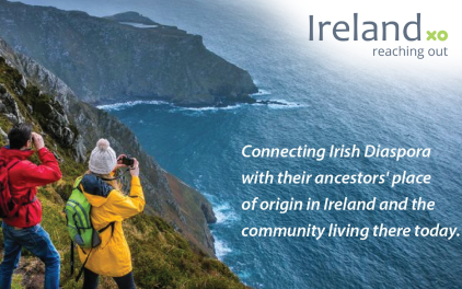 Ireland Reaching Out – Connecting people overseas and across time